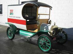 Restored, 1913 Ford model T C cab delivery truck....awesome