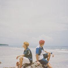 BTS Jimin and Jungkook (August 2018 at kst) 사이판에서 마지막 사진 🌊☀️ Jimin Jungkook, Namjoon, Taehyung, Hoseok, Bts Bangtan Boy, Seokjin, Bts Boys, Jikook, Jung Kook