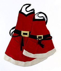 Delantales Santa