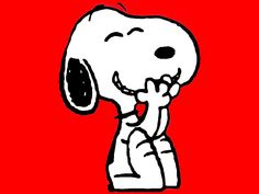 Snoopy giggles - Peanuts Wallpaper