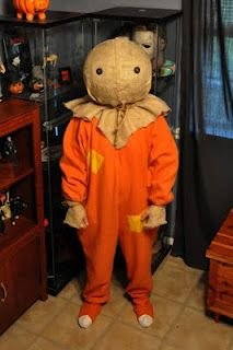 Halloween Addict: How to make a Sam from Trick 'r Treat Mask