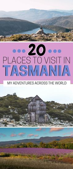 Tasmania is probably the most underrated destination in Australia! With stunning landscapes, breathtaking beaches, lavender fields and more, a Tasmania road trip will leave you speechless. Check out this ost for the 20 best things to do in Tasmania! Brisbane, Melbourne, Sydney, Perth, Australia Beach, Visit Australia, Australia Travel, Queensland Australia, Western Australia