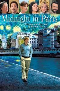 Midnight in Paris.  The perfect blend of whimsy & believability.