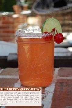 A twist on the traditional margarita...  Cherry Beergarita #treslife #drinks #margarita #cincodemayo #party