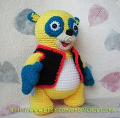 Special Agent OSO 12inches - PDF amigurumi crochet pattern