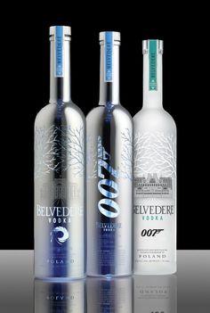 Belvedere Vodka traz ao Brasil garrafas em homenagem a 007 - EmbalagemMarca