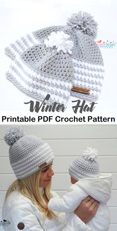Latest Pictures Crochet Hat winter Suggestions You will need to fully grasp various quantities of crocheting, like everything there exists an area Crochet Adult Hat, Crochet Hats For Boys, Bonnet Crochet, Crochet Baby Hat Patterns, Crochet Beanie Pattern, Crochet Baby Hats, Crochet Clothes, Crochet Stitches, Baby Knitting