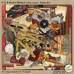 Personal Use :: Kits :: Double Dip: Steampunk World
