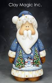 A Merry Santa Claus in blue! A scene of a snowman holiday is on the front of Santa's coat! Merry Christmas, Christmas Clipart, Father Christmas, Blue Christmas, Vintage Christmas, Christmas Holidays, All Things Christmas, Christmas Decorations, Xmas