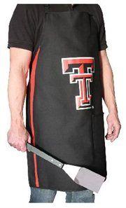 Premium NCAA Apparel Texas Tech University BBQ Grilling Aprons