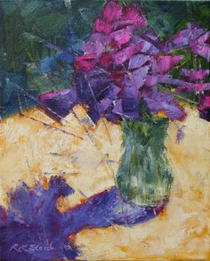 Original art for sale at UGallery.com | Yield to Beauty by Roxanne Steed | oil painting | 10' h x 8' w