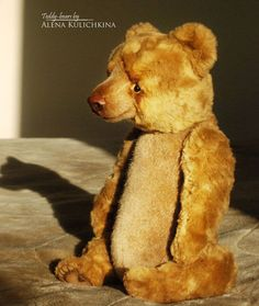 "Bear ""Zahar"",  teddy-bear by Alena Kulichkina,  OOAK, 13"""