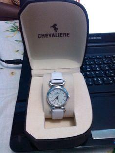 CHEVALIERE WATCH from Qatar Brand New  P3500
