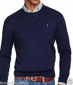 Polo-Ralph-Lauren-Sweatshirt-Black-Gray-Red-Navy-Blue-cream-2XL-XL-L-M-S