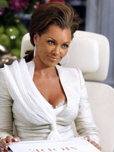 Vanessa Williams as Wilhemina Slater in Ugly Betty, Stylist & costume designer Patricia Field