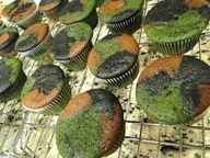 Camoflauge cupcakes! Love this!