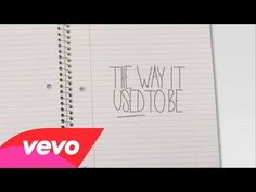 Mike Posner - The Way It Used To Be (Official Lyric Video) - YouTube  I want it to be the way it used to be
