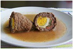 Pradobroty: Španělský ptáček Czech Recipes, Ethnic Recipes, Sushi, Eggs, Beef, Breakfast, Food, Women's Fashion, Meat