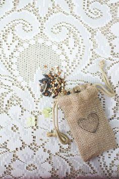 birdseed toss bags  #wedding