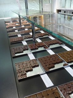 Chocolates at Jacques Genin...