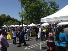 Go Day 2014, Marketing Launch Celebration with food trucks in MV parking lot.
