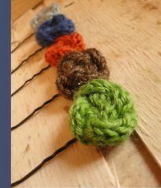 barette laine pour cheveux