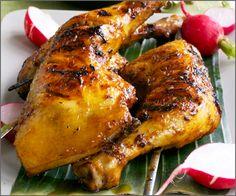 World Cuisine Wednesday: Chicken Inasal - Filipino. Filipino Dishes, Filipino Recipes, Asian Recipes, Filipino Food, Chicken Inasal Recipe, Philippine Cuisine, Pinoy Food, Recipes From Heaven, Food Presentation