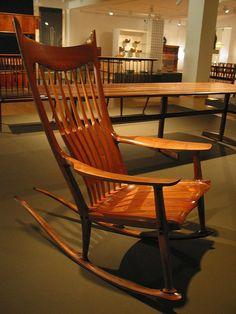 Sam Maloof Rocking Chair | Flickr - Photo Sharing!