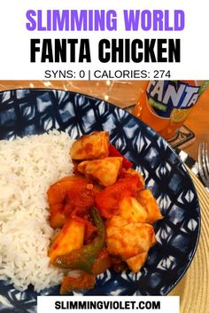 Slimming World Fanta chicken is Syn free and has just 274 calories per serving! A great choice for your next fakeaway night. Slimming World Fanta chicken is Syn free and has just 274 calories per serving! A great choice for your next fakeaway night. Slimming World Fakeaway, Slimming World Dinners, Slimming World Chicken Recipes, Slimming World Recipes Syn Free, Slimming World Diet, Slimming Eats, Slimming Worls, Chicken Curry, Chicken Pasta
