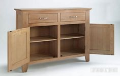 CAMBRIDGE Oak Buffer/ Sideboard , Dining Room, NZ's Largest Furniture Range with Guaranteed Lowest Prices: Bedroom Furniture, Sofa, Couch, Lounge suite, Dining Table and Chairs, Office, Commercial & Hospitality Furniturte