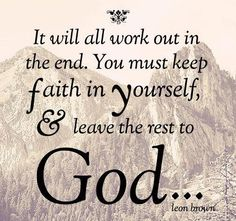 Trust God in every circumstance. Thessalonians 5:16-18