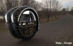 Concepto del vehículo Med-evacuación RollEvac militar para llevar a los soldados heridos al centro médico del ejército Diseñador: Sadok Sakly Tuvie | http://www.tuvie.com