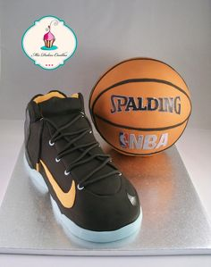 basketball and sneaker - Cake by Mis Dulces Cosillas