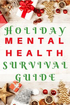 The holidays can be a rough time for just about anyone. Check out my mental health holiday survival guide to help you get through the season. Explaining Depression, Understanding Depression, Depression Remedies, Depression Symptoms, Depression Treatment, Transformation Project, Health Activities, Therapy Activities, Fibromyalgia