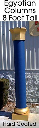 Egyptian 8 Foot Foam Column Prop