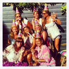 Happy Birthday San! BBQ Haagse Meisjes 25-7-2013