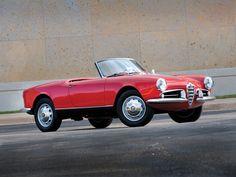 1956-62 Alfa Romeo Giulietta Spider