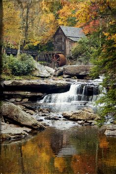 North America | The Grist Mill, Babcock State Park, West Virginia, United States of America