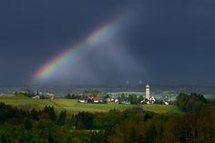 Gewitterstimmung Unterallgäu   Kees van Surksum - Landschaftsfotografie Allgäu Schwaben Bodensee