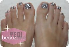 Sparkle toes!