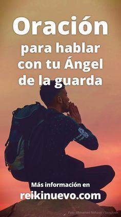 Oración para pedir ayuda y protección a tu Ángel de la guarda y también para demostrarle tu gratitud por cuidar y estar a tu lado desde hace tanto tiempo. Escúchala en: https://www.reikinuevo.com/oracion-hablar-tu-angel-guarda/