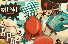 Tapas Illustrated tapas bar menu cover for Dylan... | The Khooll