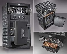 Doettling's world's safest luxury safe 'The Fortress' is certified for up to $ 1,000,000 in insurance coverage