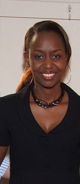 Immaculee Ilibagiza, born 1972, Rwandan genocide survivor, advocate of forgiveness and reconciliation.