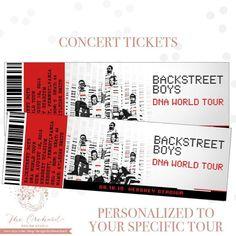 The 25 Best Concert Ticket Gift Ideas On Pinterest