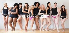 Several weeks ago, lingerie label Victoria's Secret launched its new Body by Victoria bra campaign to an immediate uproar from women across the Internet. The original ad promotes the brand's Body line of underwear and bras, with a tagline… Body Shaming, Brave Women, Real Women, Body Love, Perfect Body, Perfect Fit, Victoria's Secret, Corps Parfait, Real Bodies