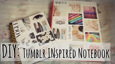 Back2School: DIY Tumblr Inspired Notebook.