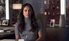 """The actress plays lawyer Rachel Zane on the legal drama. """"Meghan showed him around set,"""" the insider said. """"Everyone was so excited."""""""