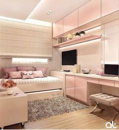 146 best teen bedroom ideas for girl and boys 47 mantulgan.me Wonderful Teen Bedrooms Bedroom boys Girl ideas mantulganme Teen Cute Bedroom Ideas, Cute Room Decor, Girl Bedroom Designs, Teen Room Decor, Awesome Bedrooms, Cool Rooms, Bedroom Inspiration, Room Ideas For Girls, Small Room Bedroom