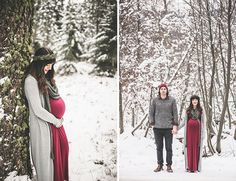 Woodland Maternity Photos Winter Woodland Maternity Photos - Inspired By ThisWinter Woodland Maternity Photos - Inspired By This Winter Maternity Pictures, Fall Maternity, Maternity Poses, Winter Maternity Photography, Maternity Portraits, Maternity Photo Outfits, Pregnancy Outfits, Pregnancy Fashion Winter, Christmas Pregnancy Photos